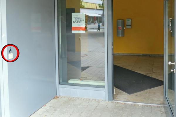 barrierefreier Zugang zum Sozialen Rathaus Ingolstadt