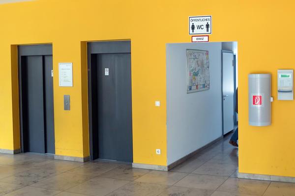 Soziales Rathaus, Eingangsbereich EG