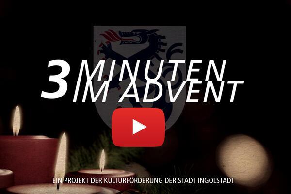 3 Minuten - Logo mit Play