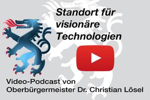"""Video-Podcast - Vorschaubild """"Standort für visionäre Technologien"""""""