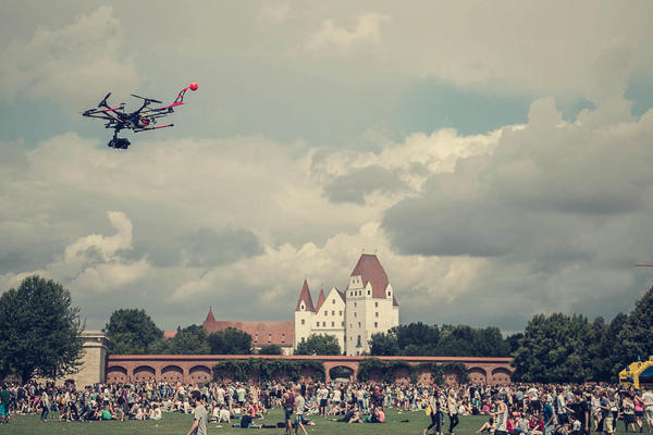 Ingolstadt von oben Video