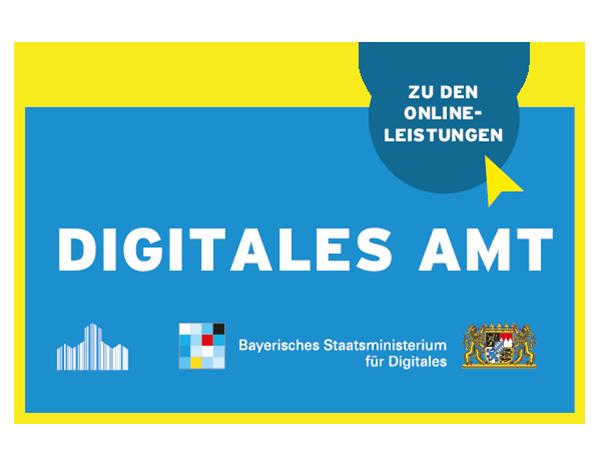 Plakette digitales Amt