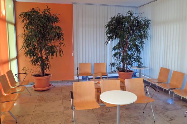 Soz.Rathaus Warteraum Jobcenter