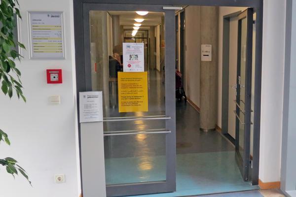 Soz.Rathaus Jobcenter-Servicebüros 1.OG