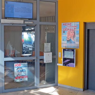 Soz.Rathaus Warteraum Jobcenter Eingang
