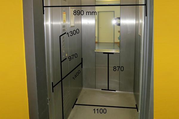 Soz.Rathaus - Maße Aufzüge