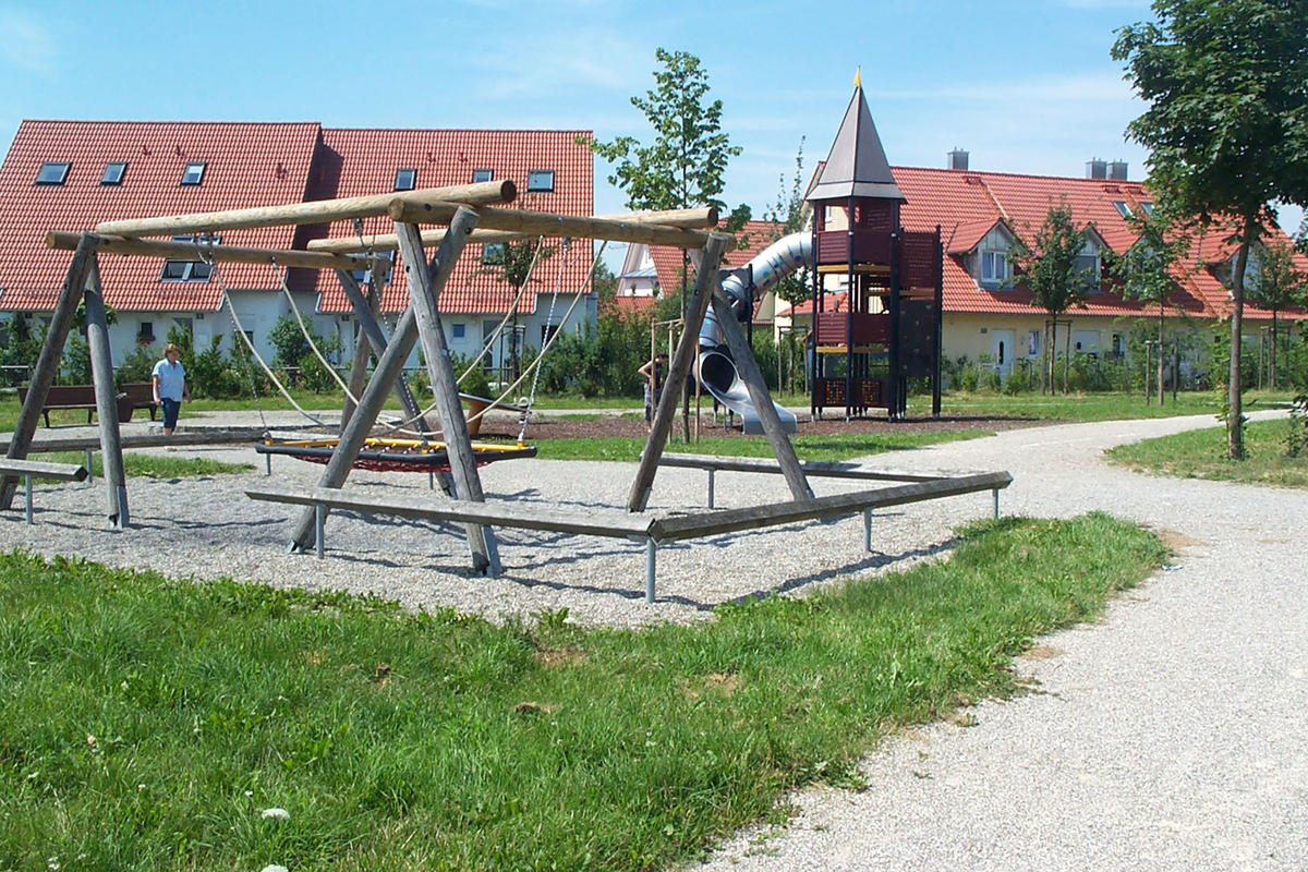 Foto: Stadtteilpark Urnengräberfeld