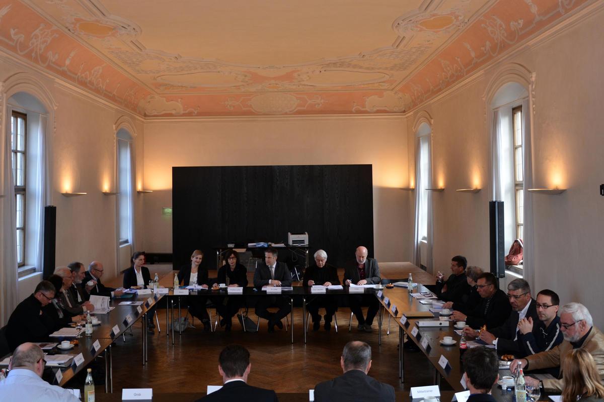 Foto: Preisgericht des Ideenwettbewerbs