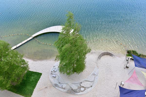 Donauwurm am Baggersee