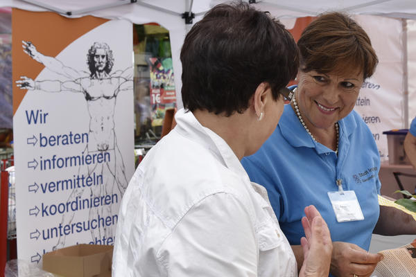 Beratung beim Ingolstädter Gesundheitstag