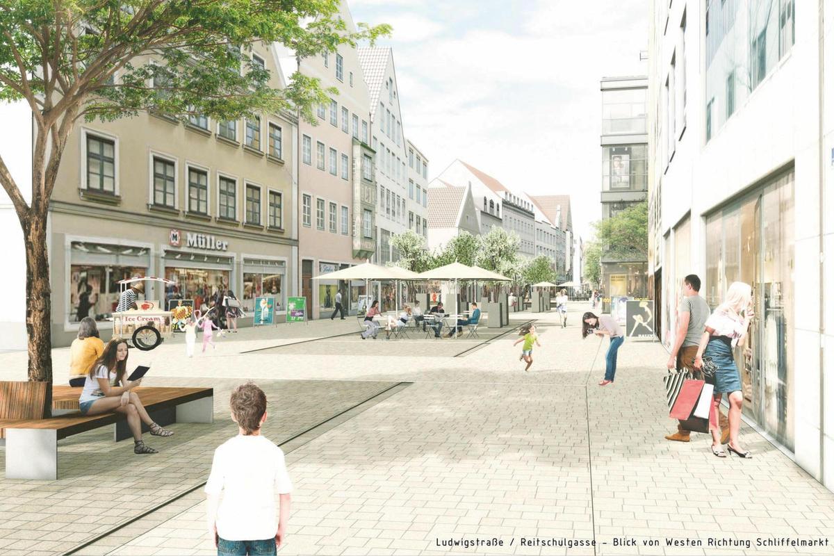 Visualisierung Ludwigstraße