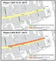 Plan zur Sanierung Fußgängerzone
