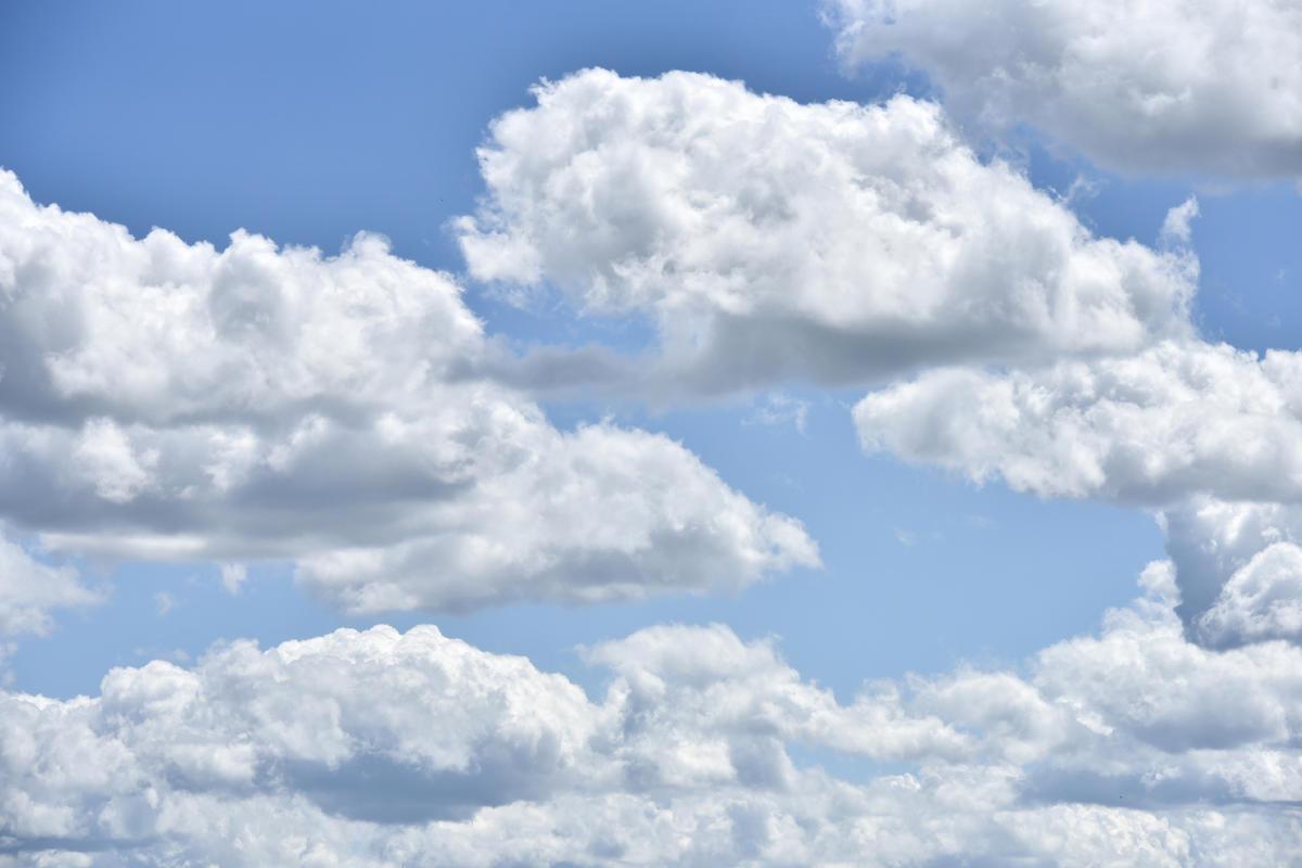 Foto: Sommerwolken