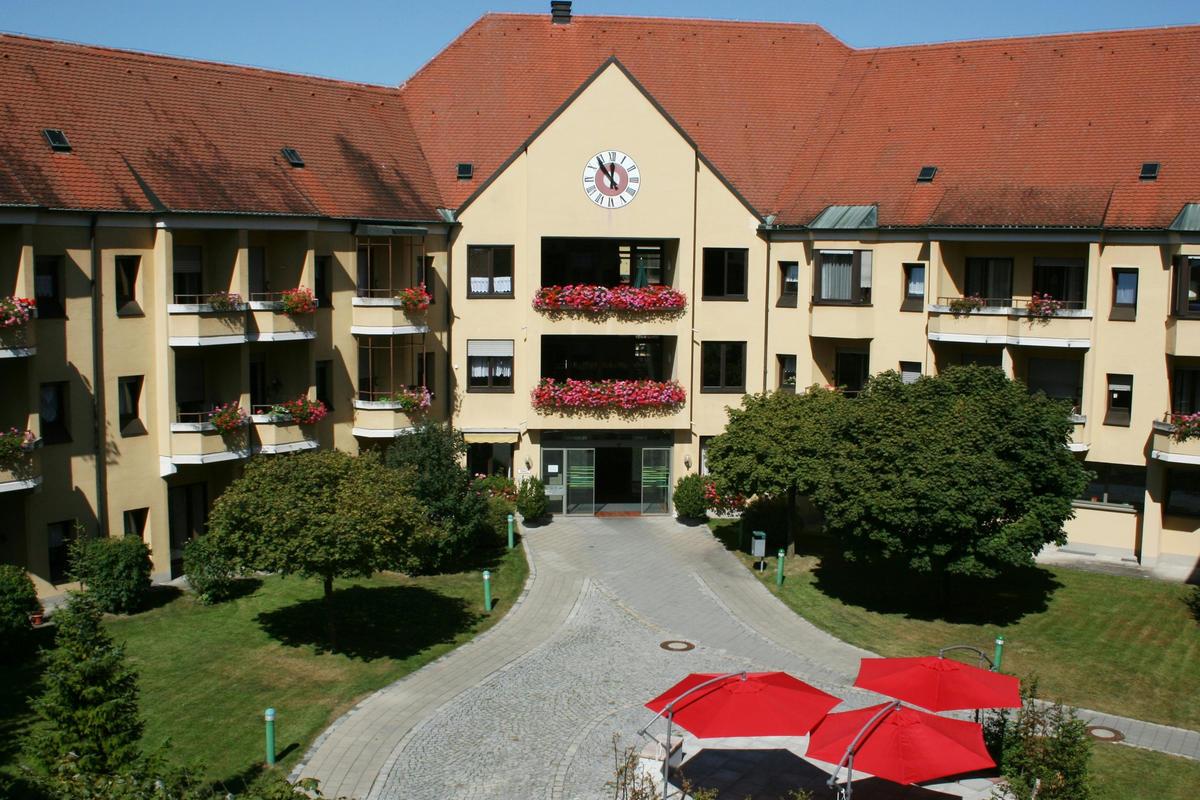 Foto: Eingangsbereich Heilig-Geist-Spital