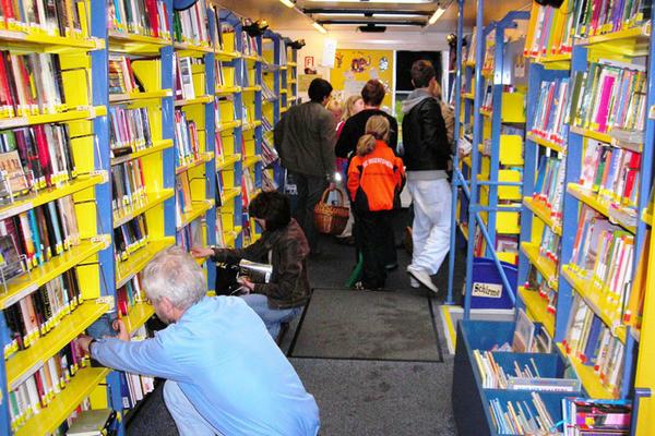 im Bücherbus