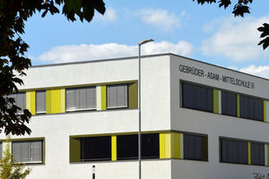 Hochbau - Schulzentrum Südwest - Neubau Mittelschule