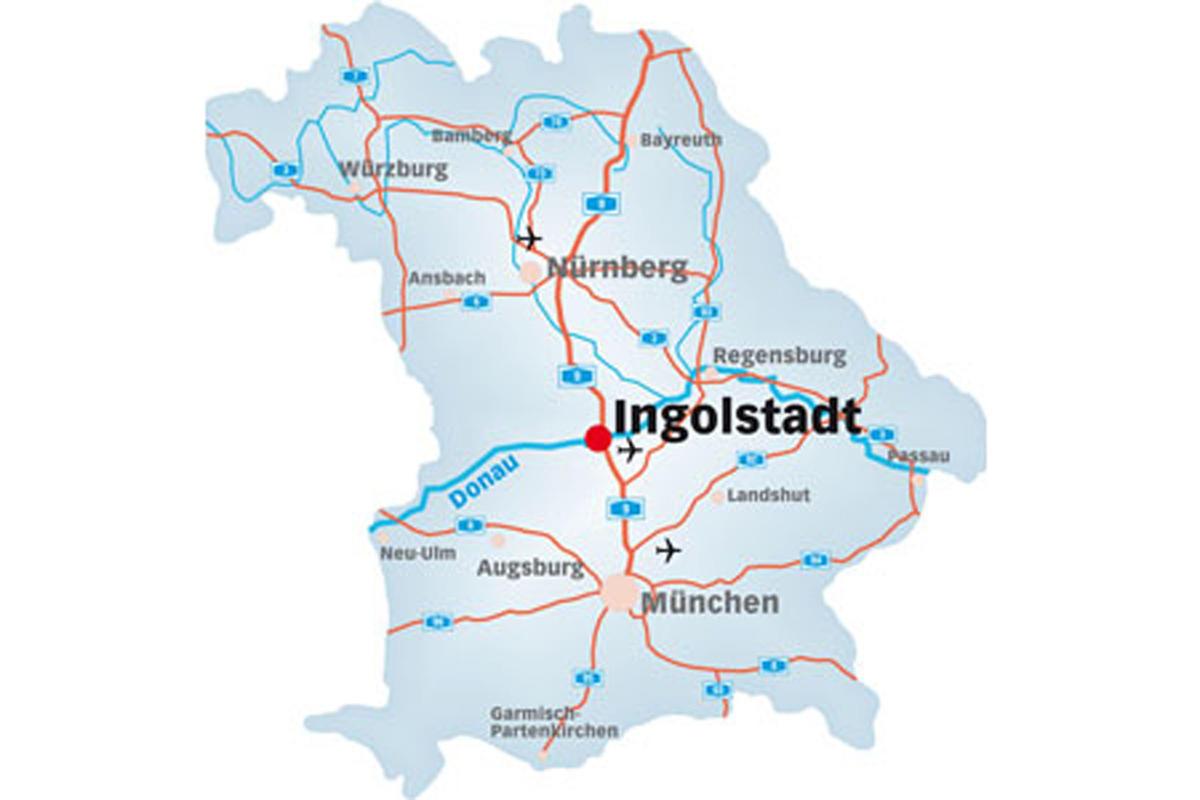 ingolstadt karte Karte Ingolstadt   Karte