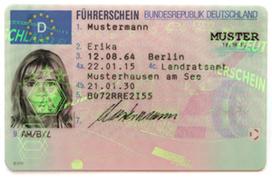 Scheckkartenführerschein