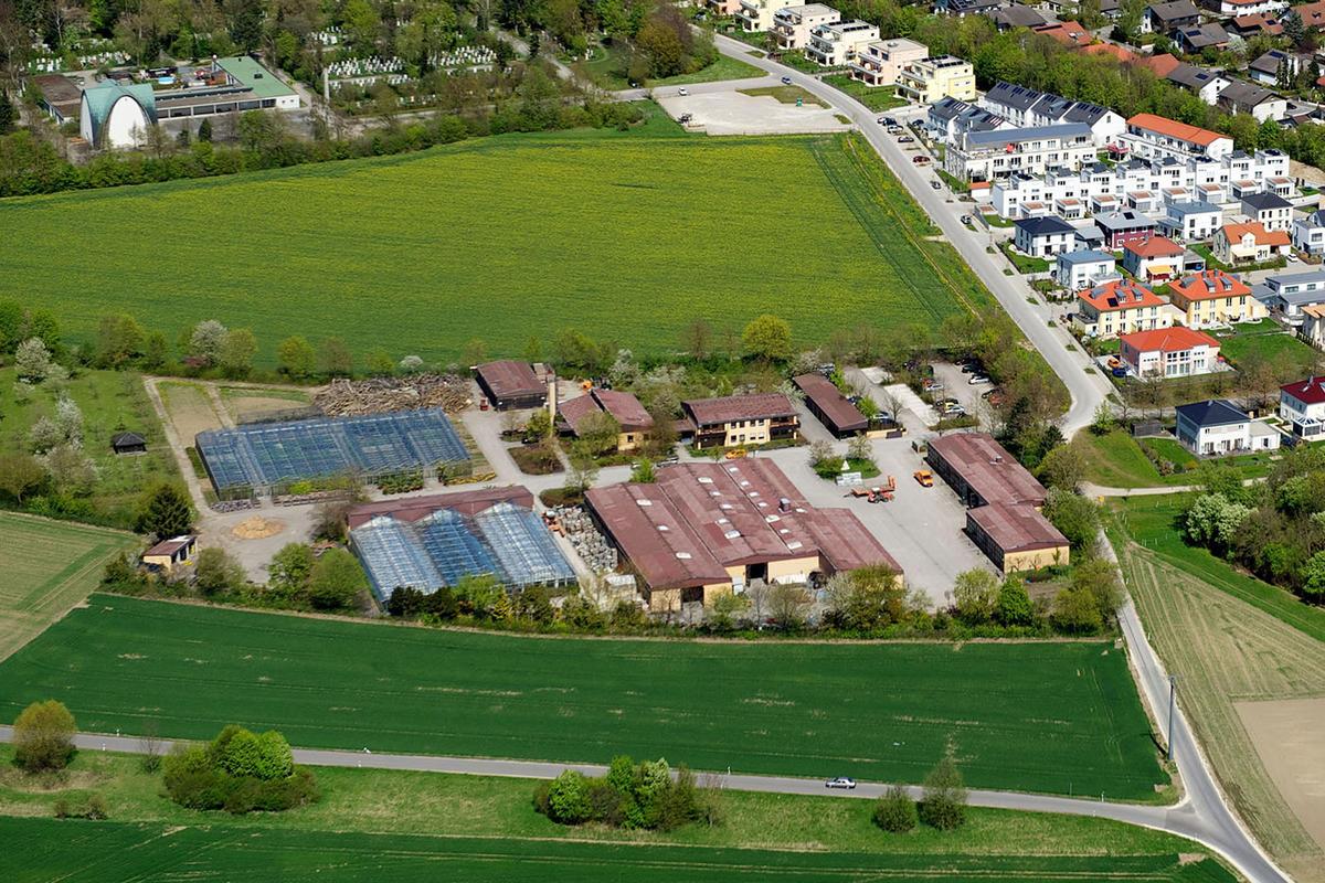 Gartenamt - Luftbild
