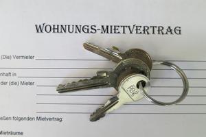 Soziales - Mietvertrag mit Schlüssel