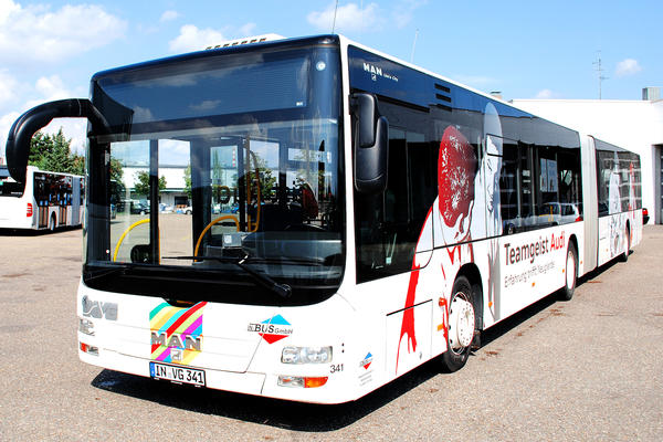 Stadtbus - Busflotte - Gelenkbus