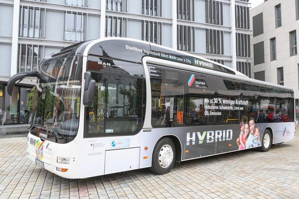 Stadtbus - Busflotte - Hybridbus