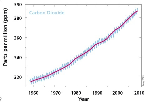 Umwelt - Anstieg-CO2-UniCop