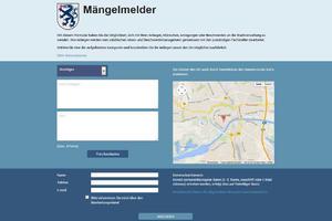 Link zum Mengelmelder der Stadt Ingolstadt