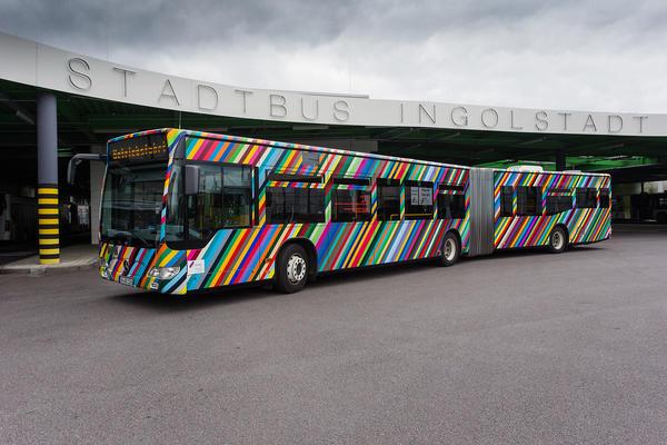 Betriebshof Hindenburgstraße - Bus
