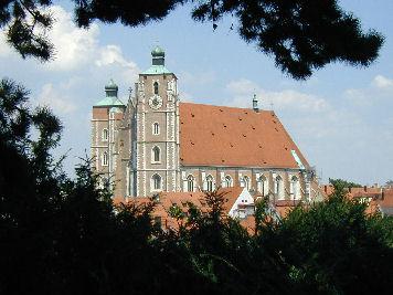 Ingolstädter Münster außen. Foto: Kurt Scheuerer